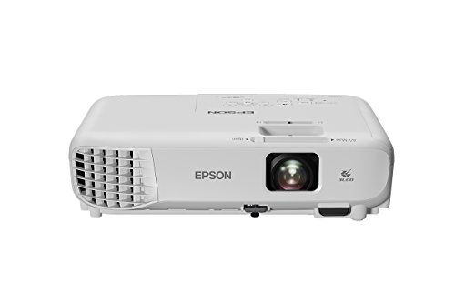 """Epson EB-X05 Videoproiettore XGA 3LCD, HDMI, 3.300 Lumen, Contrasto 15.000:1, WI-FI opzionale, Lampada UHE di Lunga Durata, Immagini fino a 300"""""""
