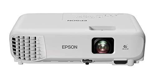 Epson Videoproiettore EB-E01, Tecnologia 3LCD, Rapporto di contrasto di 15.000:1, 3300 Lumen, HDMI, WiFi, Videoproiettore Portatile XGA, Proietta fino a 350 pollici