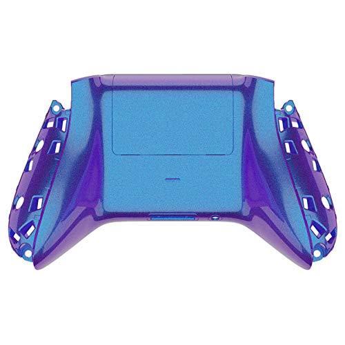 eXtremeRate Cover Custodia Posteriore Copertura Coperchio di Batteria Scocca Shell Ricambio per Xbox Series X/S Controller Joystick-NON Include Controller&Grip(Camaleonte Viola Blu)