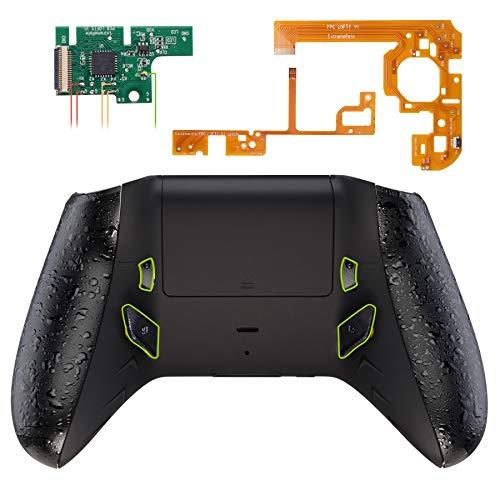 eXtremeRate Lofty Remap Kit Programmabile&Trigger Stop per Xbox One S X Controller Scheda&Cover Posteriore&Grip&Tasti Posteriori&Blocco Griletto per Xbox One S X Joystick(Model 1708)-Nero