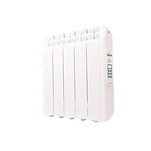 farho Riscaldamento Elettrico a Basso Consumo XP (Xana Plus) 550W (5) · Termosifone Elettrico con Cronotermostato Digitale 24/7 e Opzione WiFi · per soggiorni a 8 m² · 10 Anni di Garanzia