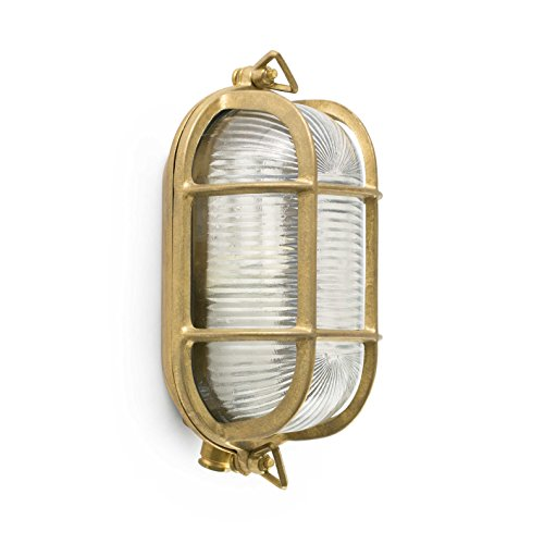 Faro 70998 - CABO Lampada da parete ottone