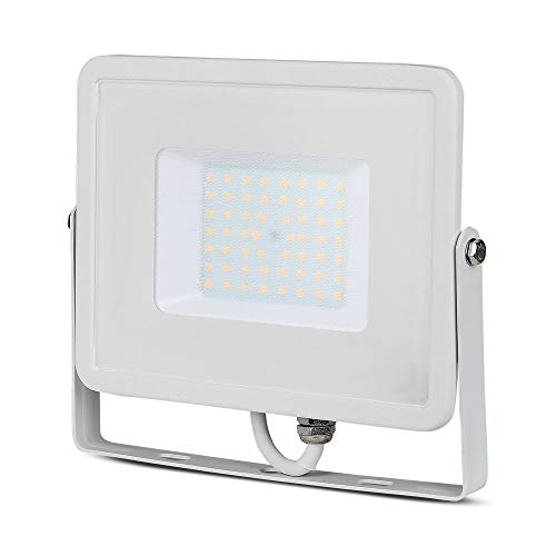 Faro LED SMD Chip Samsung 50W IP65, Bianco Naturale
