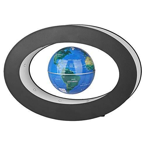 Fdit Globo fluttuante, Globo fluttuante Levitazione, novità levitazione Galleggiante Globo novità Elettronica con Regalo Display Luminoso Home Office a LED (Blue)