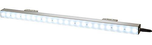FeinTech Lampada a LED, 4 W, fissaggio magnetico per armadio di rete da 19 pollici, 400 lumen