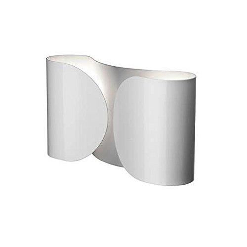 Flos Foglio Lampada, 100 watts, Bianco