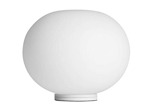 Flos Glo-Ball BASIC ZERO Dimmer Lampada da Tavolo bianco vetro Jasper Morrison 2009 - Dimmerabile