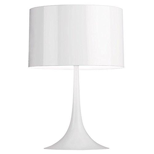 Flos Spun Light T1 Lampada, E27, 150 watts, Bianco
