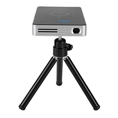 Garsent Videoproiettore 16G WiFi 2.4G/5G Mini proiettore DLP portatile con 2500 lumen Supporti 4K 1080P/HDMI/USB/Scheda TF/Bluetooth 4.1 Multimedia Home Cinema Full HD Micro Projector (EU)