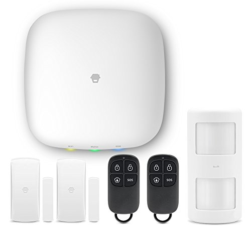 H4 Plus Wifi/GSM Smart Home sistema di allarme con rilevatore di movimento centrale, Porta/Finestra Rivelatore.