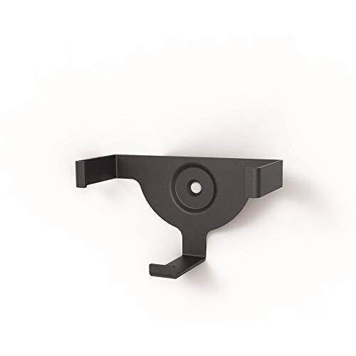 Hama - Supporto da muro per Amazon Echo Dot, nero