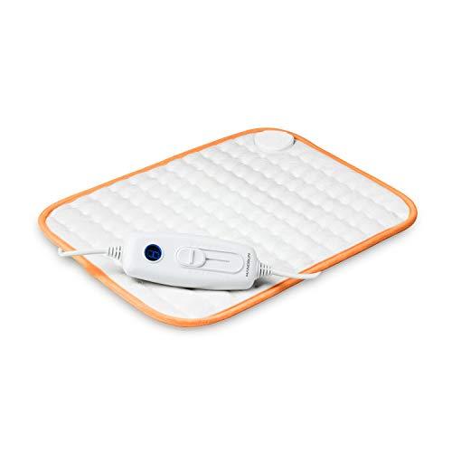 Hangsun Termoforo Elettrico, Termico Heating pads con Spegnimento Automatico, Riscaldamento Rapido a 6 Livelli di Temperatura 100 Watt 40x30cm, Lavabile