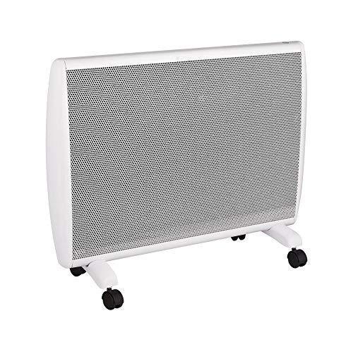 Haverland ANUBIS-15 | Termoconvettore Elettrico Portatile con Ruote | 1500 W | Termostato Elettronico | 3 Funzioni di Temperatura | Comfort / Eco / Antigelo | Bianco
