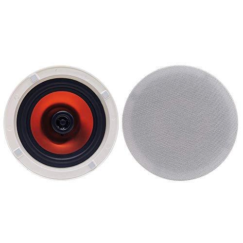Herdio 6.5 Pollici 300 Watt Rotondo Bluetooth Soffitto Altoparlanti 2 Vie Flush Mount Stereo Suono Bagno Altoparlante Per Camera Da Letto Casa Soggiorno