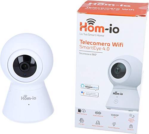Hom-io la tua smart home HOM-SmartEye-4.0 Telecamera Interno motorizzata Autotracking