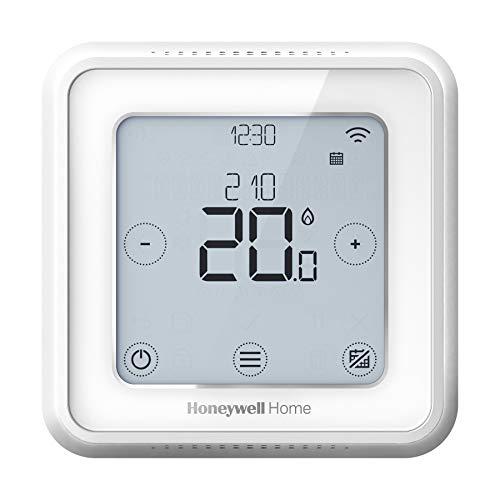 Honeywell Home Y6R910WF6068 Termostato Wi-Fi Smart, Utilizzabile con App, Compatibile con Apple HomeKit, Google Home, Amazon Alexa e IFTTT, Bianco