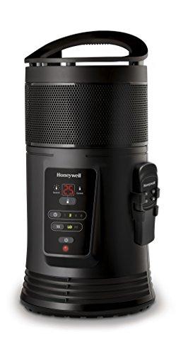 Honeywell HZ 445 Termoventilatore Ceramico 360° Surround con Telecomando