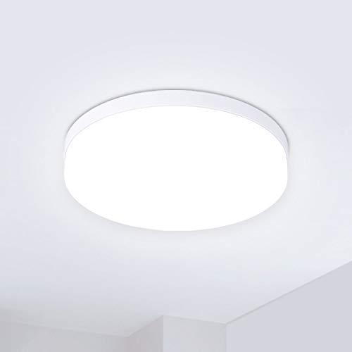 Hosome Plafoniera LED Lampada da Soffitto 36W Bianco Naturale 4500K Moderni Pannello LED Luce Rotonda per Bagno, Cucina, Soggiorno, Camera da Letto, Corridoio, Ufficio e più