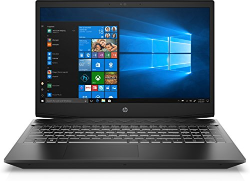 "HP - Gaming -Gaming Pavilion 15-cx0999nl Notebook, Core i5-8300H, RAM 8 GB, SSD 128 GB, HDD 1 TB, GeForce GTX 1050, Display 15.6"" FHD IPS Antiriflesso, Nero"