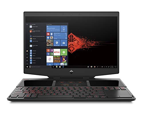 "HP - Gaming OMEN X HP 15-dg0003nl Notebook Dual-Screen, Intel Core i9-9880H, RAM 32 GB, SSD 1 TB, NVIDIA GeForce RTX 2080 8 GB, Windows 10 Home, Schermo 15.6"" FHD IPS Antiriflesso, USB-C, HDMI, Nero"