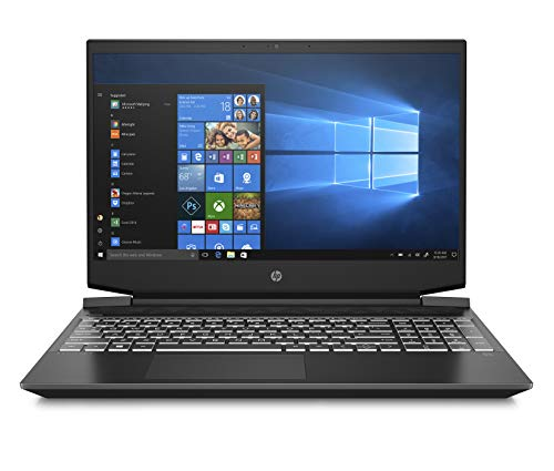 "HP - Gaming Pavilion 15-ec0023nl Notebook Gaming, AMD Ryzen 5 3550H, RAM 8 GB, SSD 512 GB, NVIDIA GeForce GTX 1650 4 GB, Windows 10 Home, Schermo FHD IPS 15.6"", Lettore Micro SD, USB-C, HDMI, Nero"