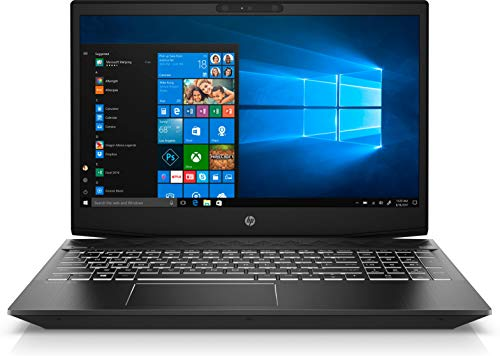 "HP Pavilion Gaming 15-CX0031NL Notebook, Windows 10 Home, Processore Intel i7-8750H, RAM 16 GB, SSD da 128 GB e SATA da 1 TB, NVIDIA GeForce GTX 1050, Display 15.6"" FHD IPS Antiriflesso, Nero"