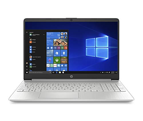 "HP – PC 15s-eq0021nl Notebook, AMD Ryzen 3, RAM 8 GB, SSD 256 GB, Grafica AMD Radeon Vega 3, Windows 10 Home S, Schermo 15"" FHD SVA Antiriflesso, Micro-Edge, Fast Charge, Lettore SD/Micro SD, Argento"