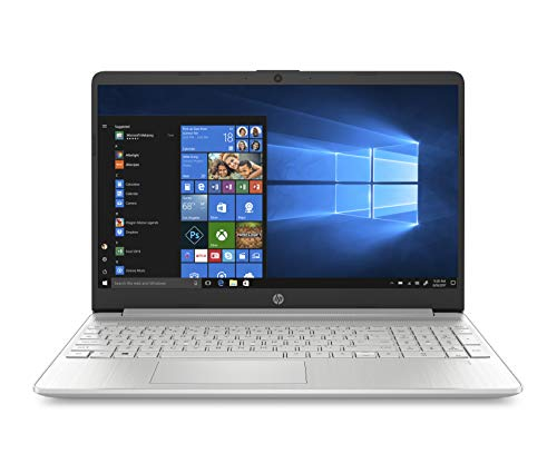 "HP – PC 15s-fq1034nl Notebook, Intel Core i7-1065G7, RAM 8 GB, SSD 512 GB, Grafica Intel Iris Plus, Windows 10 Home, Schermo 15.6"" FHD Antiriflesso, Lettore Impronte Digitali, Lettore MicroSD, Argento"