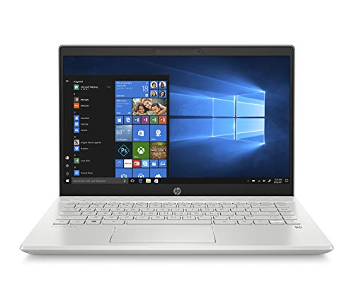 "HP-PC Pavilion 14-ce3035nl Notebook, Intel Core i7-1065G7, RAM 16 GB, SSD 1 TB, Nvidia GeForce MX250 4 GB, Windows 10 Home, Schermo 14"" FHD Antiriflesso, Lettore Micro SD, USB-C, HDMI, Webcam, Argento"