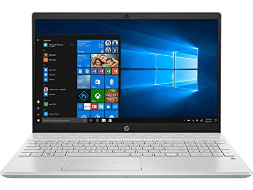 "HP - PC Pavilion 15-cw1043nl Notebook, AMD Ryzen 5 3500U, RAM 8 GB, SSD 256 GB, Grafica AMD Radeon Vega 8, Windows 10 Home, Schermo 15.6"" FHD Antiriflesso, Audio Bang&Olufsen, Fast Charge, Argento"