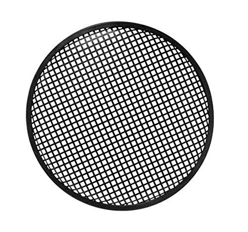 """HQ Power 12"""" black metal speaker grille supporto da parete per casse acustiche Metallo Nero"""