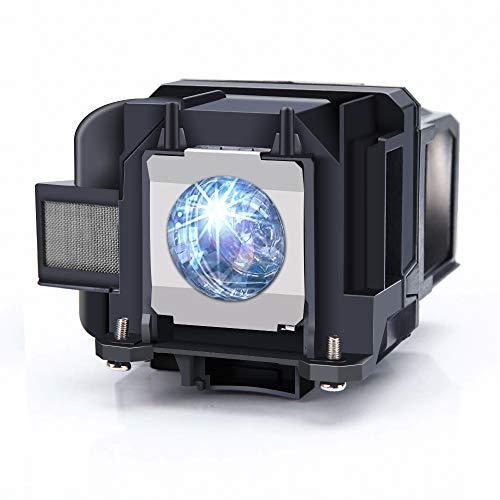 Huaute V13H010L88 / ELPLP88 Lampada per proiettore sostitutiva con alloggiamento compatibile con Powerlite Home Cinema 2040 1040 2045 740HD 640 EX3240 EX7240 EX9200 EX5250 EX5240 VS240 VS345 VS340