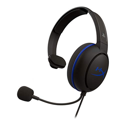HyperX HX-HSCCHS-BK/Em Cloud Chat for PS4 - Cuffie Gaming per PS4, Black
