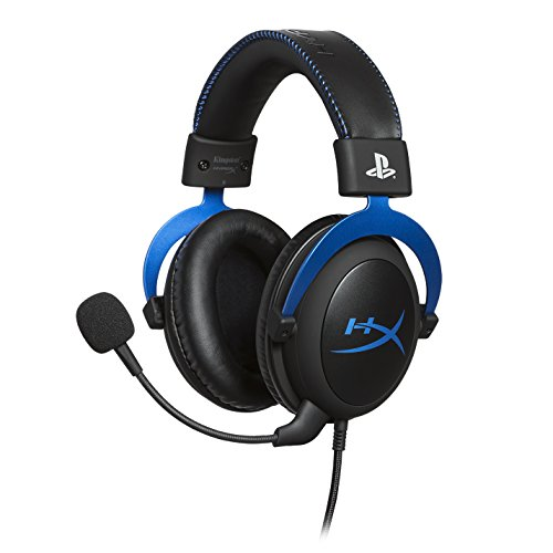HyperX HX-HSCLS-BL Cloud pour PS4, Cuffie Gaming per PS4 con Controlli Audio