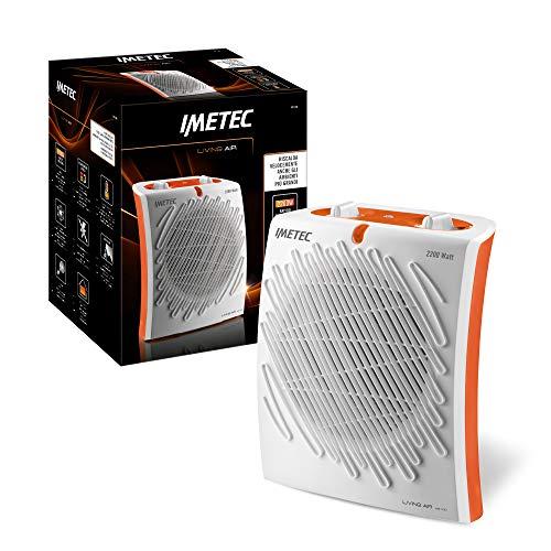 Imetec Living Air M2-100 Termoventilatore, 2200 W, 3 Livelli di Temperatura, Termostato Ambiente