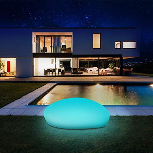 Infray, lampade solari per esterni, lampade solari da giardino, 40 cm, sfera solare da giardino con 9 modalità, IP67 impermeabile [Classe energetica A+++], 40 x 30 x 16 cm.