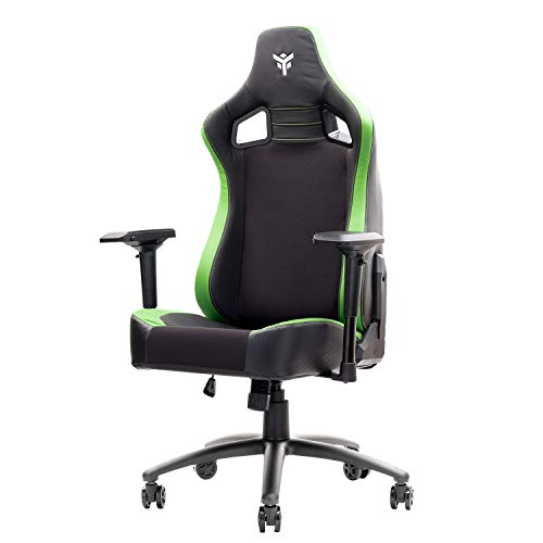 Itek Gaming Chair Scout PM30, PVC, Verde, NORMALE