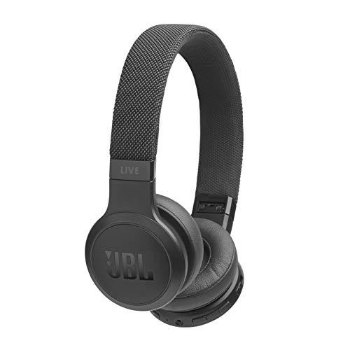 JBL LIVE 400BT - Cuffie On-Ear Wireless Bluetooth, Con Alexa integrata e Assistente Google, Fino a 24h di Autonomia, Colore Nero