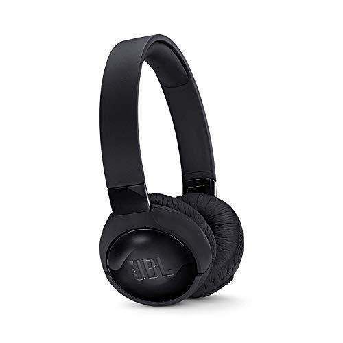 JBL Tune600BTNC Cuffie Wireless Sovraurali con funzione di Noise Cancelling , Cuffie Pieghevoli Bluetooth con Microfono integrato , Più di 12h di autonomia, Nero