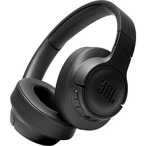 JBL TUNE700BT Cuffie Over-Ear Wireless Bluetooth, Cuffia pieghevole senza fili per Musica, Chiamate e Sport, Fino a 27h di autonomia, Colore Nero