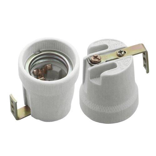 Kanlux HLDR - Porta lampadina con presa in ceramica, 250 V