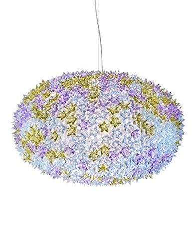 Kartell Bloom, Lampada a Sospensione, Grande, Multicolore (Lavanda)