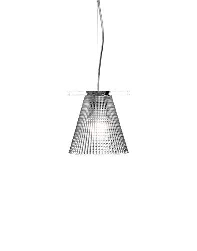 Kartell Light Air Lampada a Sospensione, Versione Sculturata, Transparente(Cristallo)