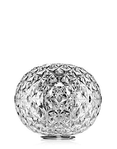 Kartell Planet Lampada da Appoggio 22 W, Trasparente(Cristallo), 31X28 Cm