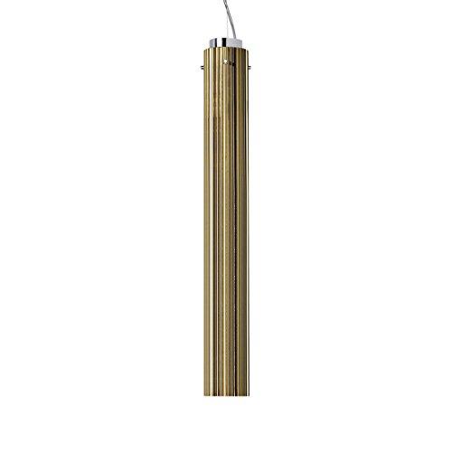 Kartell Rifly, Lampada a Sospensione, H - 60 cm, Oro