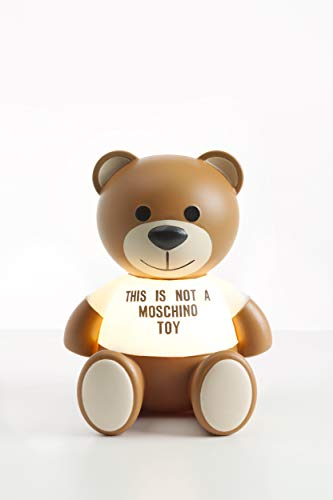 Kartell Toy Moschino Lampada da Tavolo 1.2 W, Marrone, 25 x 30 x 24 cm