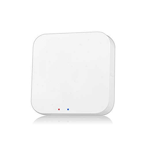 KKmoon Tuya ZigBee Smart Gateway Hub Smart Home Bridge Tuya/Smart Life App Telecomando Wireless per Tutti i Prodotti Intelligenti Tuya ZigBee 3.0(Compatibile Solo con i Prodotti Tuya ZigBee)