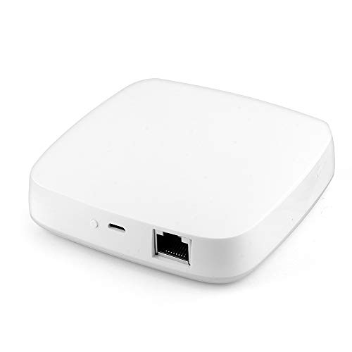 KKMOON Tuya ZigBee Smart Gateway Hub,Smart Home Bridge Tuya/Smart Life APP Telecomando wireless per tutti i prodotti intelligenti Tuya ZigBee 3.0 Centro di Controllo Domestico Intelligente