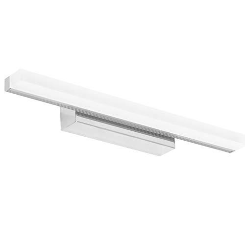 Klighten 9W Lampada da specchio a LED 40cm Lampada da trucco, 6000K bianco freddo, IP44 per mobile a specchio, bagno, luce per mobile