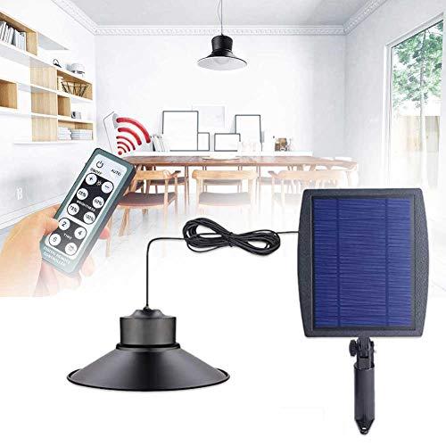 KLOP256 - Luce del capanno con timer ABS, energia solare, due modalità LED, luminosità regolabile, con granaio, impermeabile, da giardino, con telecomando, pollaio interno (5 m)